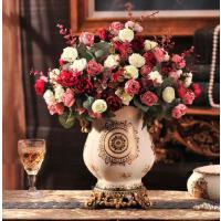 欧式奢华陶瓷花瓶插花家居饰品新房装饰现代客厅餐桌摆件结婚礼物