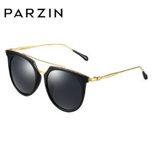 帕森时尚偏光太阳镜 女士金属双梁镜架TR轻盈镜框潮墨镜 9892