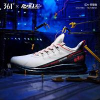 【劳动节 券后预估价:194】Q弹高达独角兽联名 361男鞋运动鞋Q立方2020新款防泼水雨屏跑步鞋
