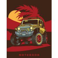 "【预订】Off Road Jeep 8.5"" x 11"" Notebook: Blank lined Notebook"