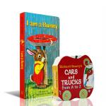 进口英文原版Richard Scarry I am a bunny我是一只小兔子Cars and Trucks fro
