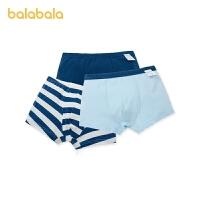 【1.27超品 2件6折:35.4】巴拉巴拉男童�妊�平角�棉�和�短�����中大童�H�w舒�m3�l�b