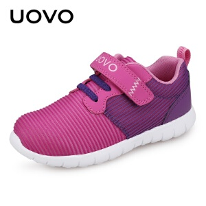 UOVO2017女童鞋春秋新款儿童鞋透气网布鞋女童运动鞋时尚休闲鞋 蒂普亚