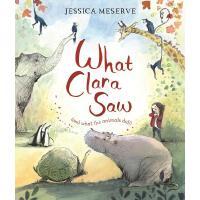 英文原版 克拉拉看见了什么 Jessica Meserve插画 绘本 What Clara Saw