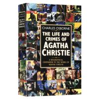 正版现货 阿加莎写作纪实 英文原版 The Life and Crimes of Agatha Christie 阿加