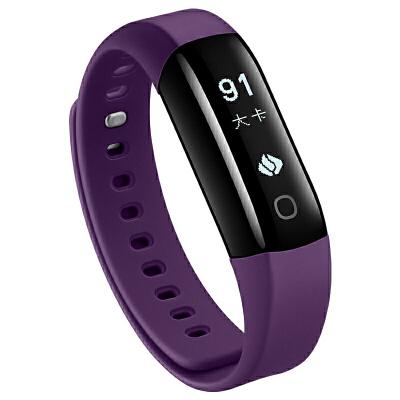 乐心智能手环 测心率运动手表男女蓝牙计步器华为小米mambo2防水 罗兰紫 下单可备注颜色或*发货