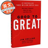 从优秀到卓越 英文原版 Good to Great 吉姆柯林斯 Jim Collins 成功企业经营管理分析 进口经济管理书 精装硬封面 Hardcover