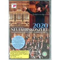 预售 中图音像 2020维也纳新年音乐会 1DVD 原装进口 原版 指挥安德里斯・尼尔森斯Andris Nelsons