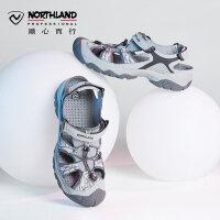 【品牌特惠】诺诗兰春夏户外休闲男式沙滩凉鞋运动溯溪鞋FS065271