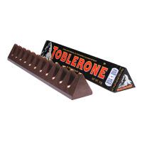 Toblerone瑞士三角 亿滋进口 黑巧克力含蜂蜜及巴旦木糖50g (瑞士进口) 休闲零食
