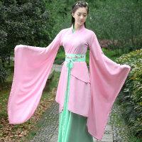 仙女古装女士礼仪之邦传统襦裙汉服唐装中国汉风舞蹈演出舞台服装