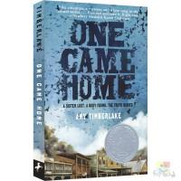One Came Home 寻找阿加莎 Amy Timberlake 纽伯瑞儿童文学银奖 悬疑冒险故事 真实历史背景小说