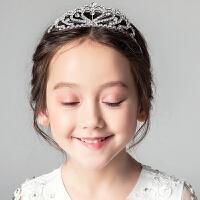 女童皇冠王冠儿童头饰水钻发饰女孩发箍发夹花童演出配饰发箍饰品