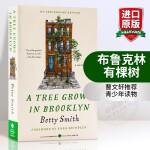 华研原版 布鲁克林有棵树 英文原版小说 A Tree Grows in Brooklyn 曹文轩推荐 正版进口英语书籍