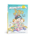 【顺丰包邮】英文原版绘本 I Can Read系列Fancy Nancy系列漂亮的南希: JoJo and the T