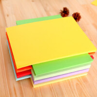 玛丽彩色纸 A4复印纸小学生长方形叠纸手工纸儿童折纸 80g