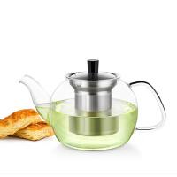 尚明耐高温高硼硅耐热玻璃茶壶花茶壶过滤花草茶壶功夫茶具大容量 S052