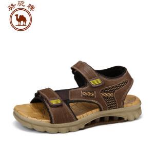 骆驼牌男士凉鞋 沙滩鞋男透气休闲凉鞋 新品新款男鞋潮