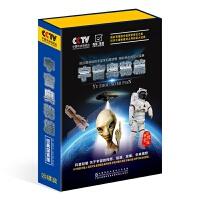 CCTV 探索发现听书馆宇宙奥秘篇20CD+2DVD 探索宇宙奥秘 科学探索启蒙CD