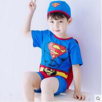 儿童泳衣游泳裤宝宝婴儿泳装度假男童套装连体男孩韩国卡通可礼品卡支付