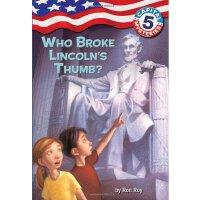 Capital Mysteries #5: Who Broke Lincoln's Thumb?谁弄伤了林肯的拇指IS