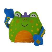 诺亚布书我是这样长大的(青蛙篇)Lalababy 拉拉布书 抱枕系列 我是这样长大的-青蛙篇