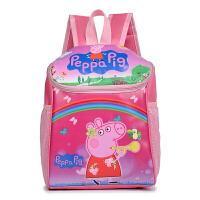 卡通小猪佩奇幼儿园男女童书包小中大班双肩旅行儿童背包--岁