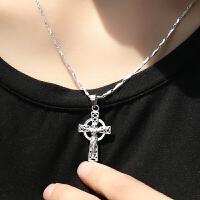 项链吊坠挂件学生锁骨链简约银饰品