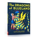 英文原版 我爸爸的小飞龙系列:小飞龙的家 纽伯瑞儿童文学奖 The Dragons of Blueland (My F