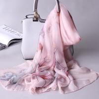 春秋季丝巾女围巾秋冬季长款披肩
