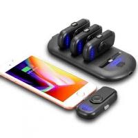 苹果无线磁吸大容量充电宝手指移动电源手机三星便携充电胶囊通用