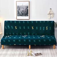 折叠沙发床套罩简易懒人无扶手沙发套沙发罩沙发垫全包套三人 适合150m-190m长度范围