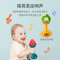 新生婴儿牙胶棒摇铃宝宝玩具水煮0-1岁硅胶抓握男孩女孩益智磨牙