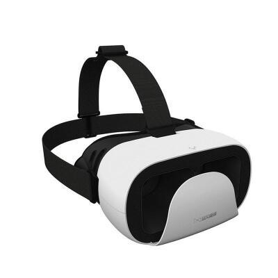暴风魔镜小D 白色 安卓/ios全兼容 虚拟现实VR眼镜智能眼镜支持任何4.7-6寸屏幕颜色 黄色、白色、玫瑰金、颜色发货随机
