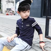 男童长袖T恤春秋装季儿童中大童体恤衫小孩上衣潮款