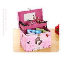 化妆包大容量多功能可爱便携旅行大号护肤品手提化妆箱多次化妆盒
