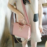 手提包女新款韩版女包链条单肩包简约小方包斜跨小包包潮