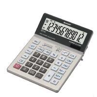 税金计算机夏普/SHARP 计算器EL-2128V商务办公用 大号可调角度