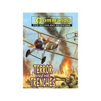 英文原版 TERROR IN THE TRENCHES
