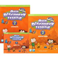 (100减20)ODI Our discovery island 第2级别学生用书包 学生书+练习册+CD 少儿美语英