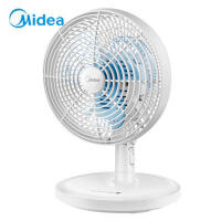 Midea/美的 电风扇 办公家用 台夹两用扇 小风扇 电风扇 FTW18-12L