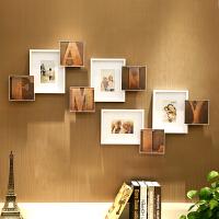 御目 照片墙 欧式复古照片墙创意组合挂墙卧室装饰相框墙餐厅客厅小墙面相片墙
