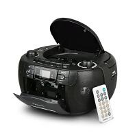熊猫CD-107听英语CD播放机器小学生便携可放光盘碟片录音磁带一体机收录磁带