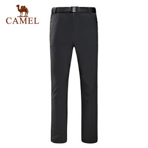 camel骆驼户外男款越野长裤 轻薄速干快干透气野营徒步
