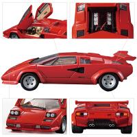 仿真合金小汽车儿童玩具车模型兰博基尼跑车赛车钢铁侠