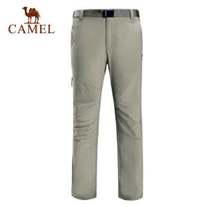 camel骆驼户外速干长裤 男女款快干透气登山徒步长裤