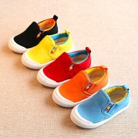 春秋宝宝帆布鞋儿童鞋男童鞋女童鞋板鞋小童单鞋鞋子潮