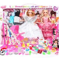 米雪琪芭芘洋娃娃大套装礼盒婚纱公主女孩儿童玩具过家家