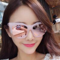 墨镜女潮时尚眼镜偏光太阳镜女士圆脸复古眼镜 支持礼品卡支付