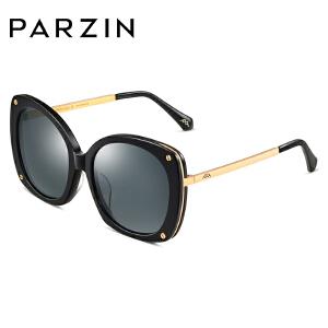 帕森偏光太阳镜女 时尚复古板材潮墨镜尼龙镜片驾驶眼镜9760
